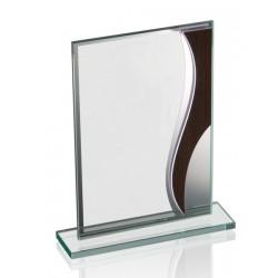Trofeo de Cristal Madera