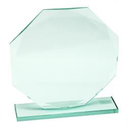 Trofeo de Cristal Octogonal