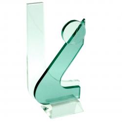 Cristal L Verde Simple
