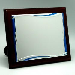 Placa Plata Azul